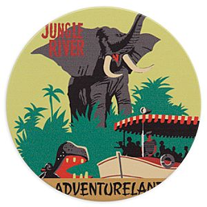 Disney Parks Attraction Poster Coaster - Jungle Cruise