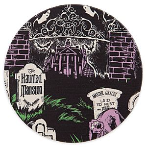 Disney Parks Attraction Art Coaster - Haunted Mansion