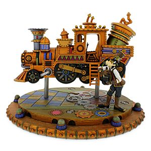 Goofy Steam Punk Figure - Disneyland Railroad - Frontierland