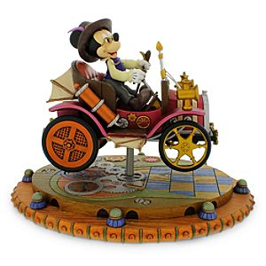 Mickey Mouse Steam Punk Figure - Horseless Carriage - Main Street U.S.A.