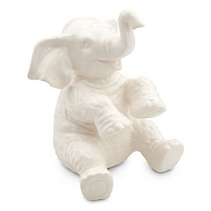 Jungle Cruise Elephant Figure - White