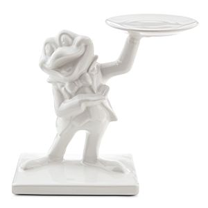 Mr. Toad Ceramic Figure - White