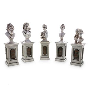 The Haunted Mansion Pillar Bust Set