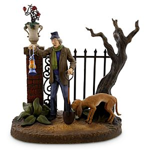 The Haunted Mansion Caretaker Figurine