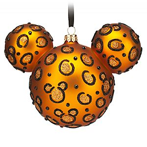 Mickey Icon Ornament – Cheetah