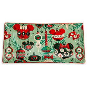 Mickey Mouse Holiday Tray - Medium