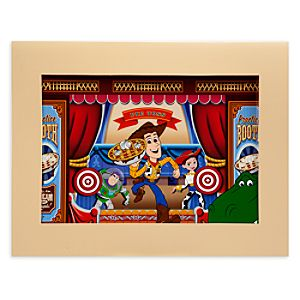 Woody and Friends Toy Story Mania Cel by Disneys Hollywood Studios Ink and Paint - Limited Availability