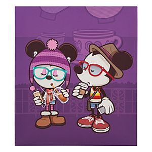 Mickey and Minnie Mouse Hipsters in Wonderland Gicleé by Jerrod Maruyama - Medium