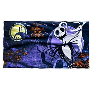 Tim Burtons The Nightmare Before Christmas Beach Towel
