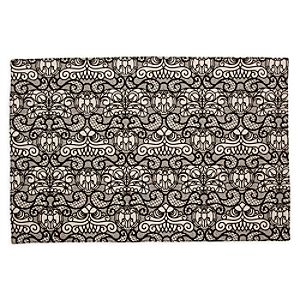 The Haunted Mansion Wallpaper Placemat - Grey