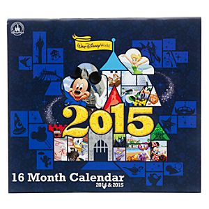 Walt Disney World 16 Month Calendar
