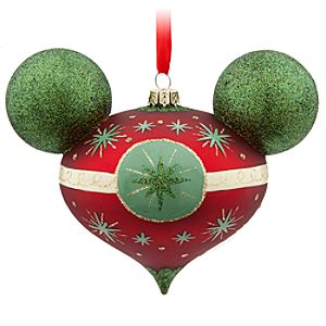 Mickey Mouse Retro Ornament