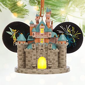 Sleeping Beauty Castle Light-Up Ear Hat Ornament - Disneyland