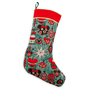 Mickey and Minnie Mouse Holiday Stocking