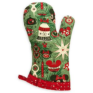 Mickey Mouse Holiday Oven Mitt