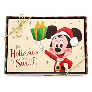 Mickey Mouse Holiday Greeting Card Set