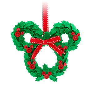Mickey Mouse Wreath Ornament