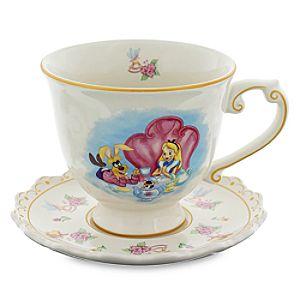 Alice in Wonderland Teacup and Saucer Set