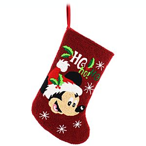 Santa Mickey Mouse Stocking