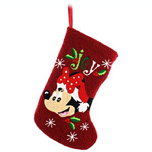 Santa Minnie Mouse Stocking