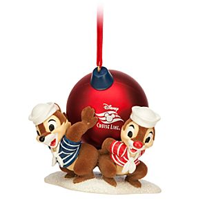 Chip n Dale Ornament - Disney Cruise Line