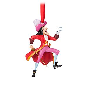 Captain Hook Figural Ornament