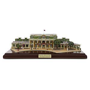 Walt Disney World Resort Exposition Hall and Tonys Town Square Restaurant Miniature by Olszewski