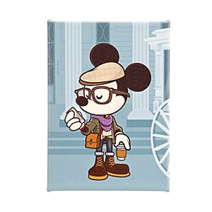 Mickey Mouse Hipster Haunt Gicleé by Jerrod Maruyama - Medium