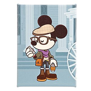 Mickey Mouse Hipster Haunt Gicleé by Jerrod Maruyama - Large