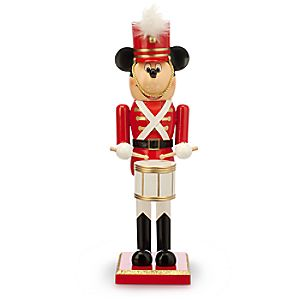 Mickey Mouse Toy Soldier Nutcracker Figure - Medium