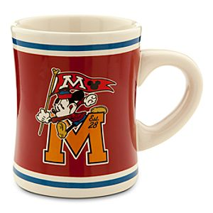 Mickey Mouse Collegiate Mug