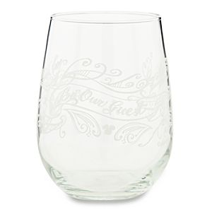 Be Our Guest Stemless Wine Glass - 16 oz.