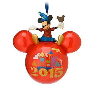Mickey Mouse Icon Ornament - Walt Disney World 2015