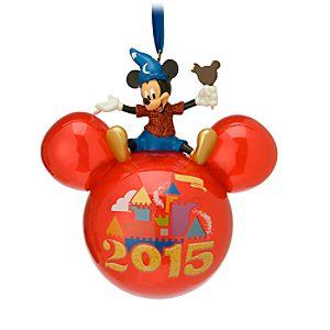 Mickey Mouse Icon Ornament - Disneyland 2015