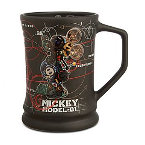 Mickey Mouse Robot Mug