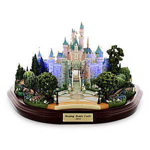 Sleeping Beauty Castle Miniature by Olszewski - Disneyland