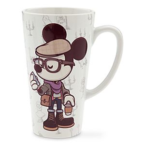 Mickey Mouse Haunted Hipster Mug