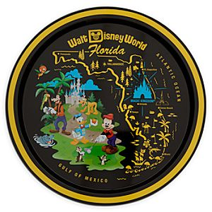 Mickey Mouse and Friends Souvenir Tray - Walt Disney World