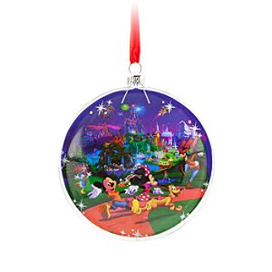 Mickey Mouse and Friends Window Storybook Ornament - Disneyland