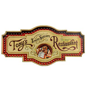 Tonys Town Square Restaurant Sign