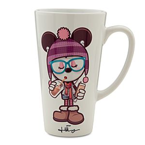 Mickey and Minnie Mouse Hipsters in Wonderland Mug