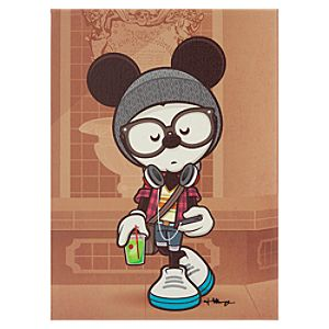 Mickey Mouse A Hipsters Life for Me Gicleé by Jerrod Maruyama - Small