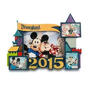 Mickey Mouse and Friends Photo Frame - Disneyland 2015