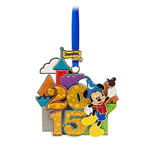 Mickey Mouse Metal Ornament - Disneyland 2015