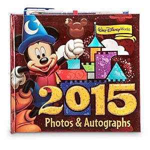 Mickey Mouse and Friends Autograph Book - Walt Disney World 2015