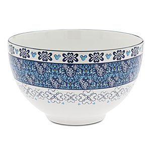Mickey Mouse Icon Indigo Salad Bowl