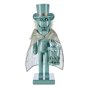 Mickey Mouse Hatbox Ghost Nutcracker Figure - 14
