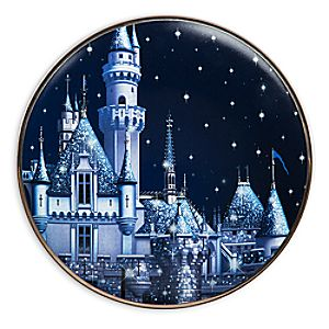 Disneyland Diamond Celebration Dessert Plate