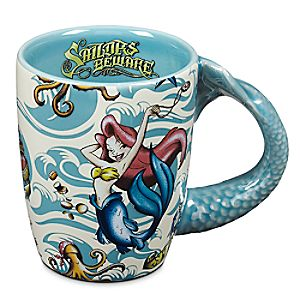 Pirates of the Caribbean Mermaid Mug