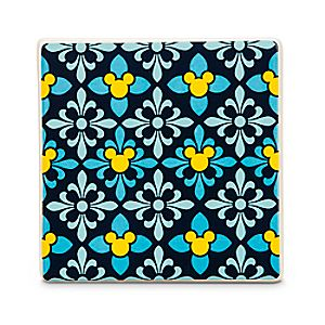 Mickey Mouse Icon Indigo Tile - Diamond
